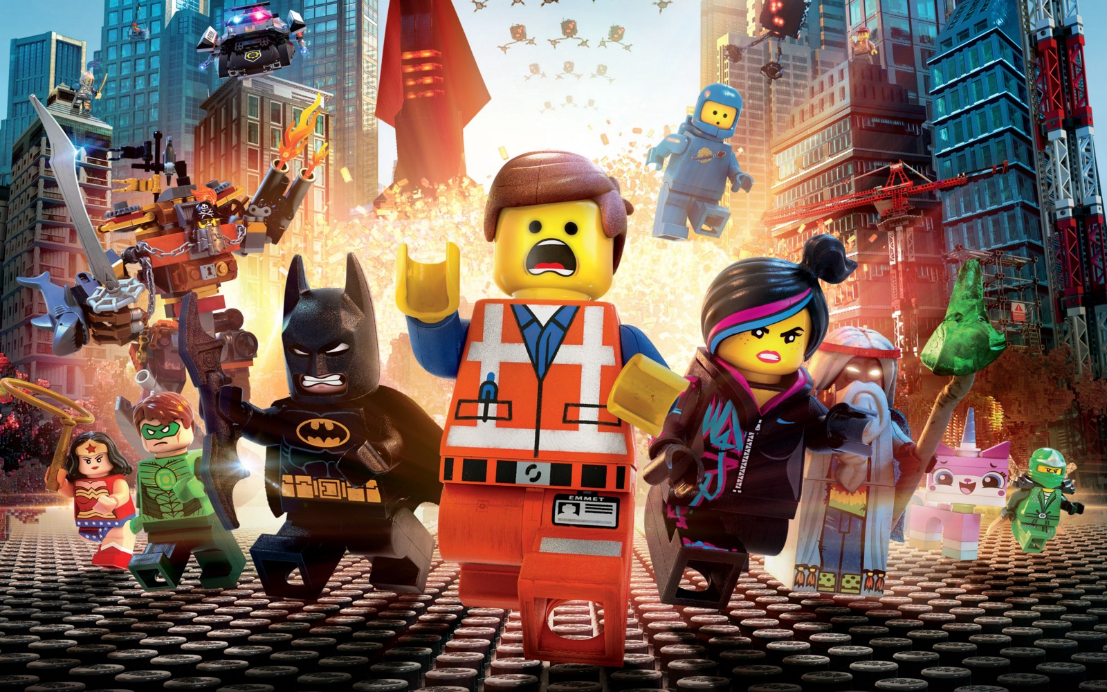 "James David Parker reviews the Film ""The Lego Film"""