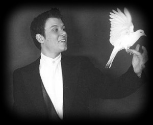 James with dove